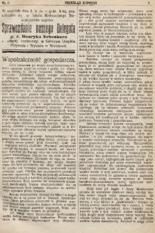 Przegląd Kupiecki : organ Krakowskiego Stowarzyszenia Kupców. 1921, nr6