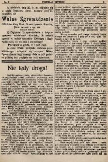 Przegląd Kupiecki : organ Krakowskiego Stowarzyszenia Kupców. 1921, nr8