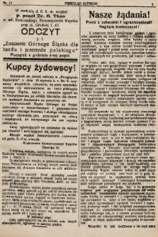Przegląd Kupiecki : organ Krakowskiego Stowarzyszenia Kupców. 1921, nr10