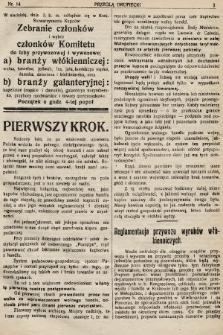 Przegląd Kupiecki : organ Krakowskiego Stowarzyszenia Kupców. 1921, nr14