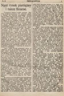 Przegląd Kupiecki : organ Krakowskiego Stowarzyszenia Kupców. 1921, nr20