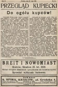 Przegląd Kupiecki : organ Krakowskiego Stowarzyszenia Kupców. 1921, nr21