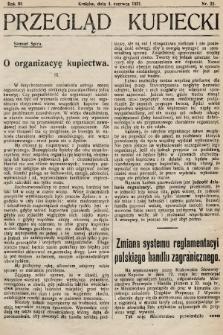 Przegląd Kupiecki : organ Krakowskiego Stowarzyszenia Kupców. 1921, nr22