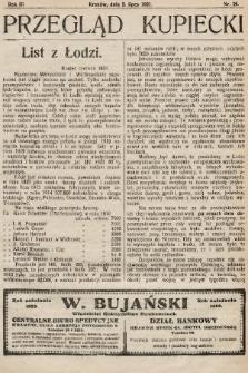 Przegląd Kupiecki : organ Krakowskiego Stowarzyszenia Kupców. 1921, nr26