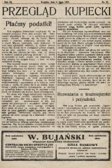 Przegląd Kupiecki : organ Krakowskiego Stowarzyszenia Kupców. 1921, nr27