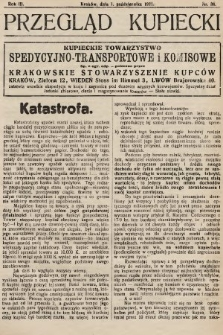 Przegląd Kupiecki : organ Krakowskiego Stowarzyszenia Kupców. 1921, nr38