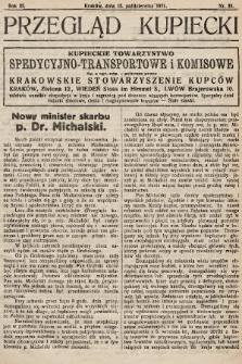 Przegląd Kupiecki : organ Krakowskiego Stowarzyszenia Kupców. 1921, nr39