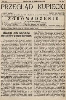 Przegląd Kupiecki : organ Krakowskiego Stowarzyszenia Kupców. 1921, nr40