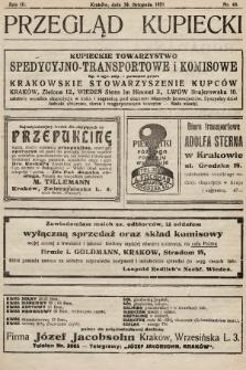 Przegląd Kupiecki : organ Krakowskiego Stowarzyszenia Kupców. 1921, nr43