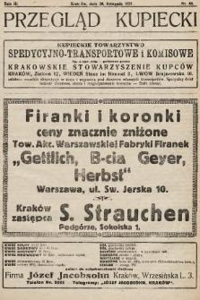 Przegląd Kupiecki : organ Krakowskiego Stowarzyszenia Kupców. 1921, nr44