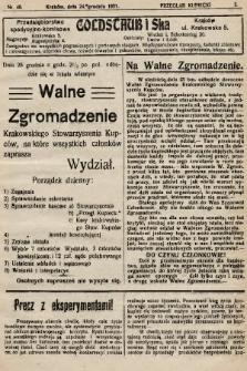 Przegląd Kupiecki : organ Krakowskiego Stowarzyszenia Kupców. 1921, nr48