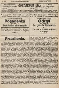 Przegląd Kupiecki : organ Krakowskiego Stowarzyszenia Kupców. 1921, nr49