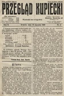 Przegląd Kupiecki. 1920, nr2