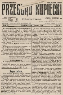 Przegląd Kupiecki. 1920, nr6