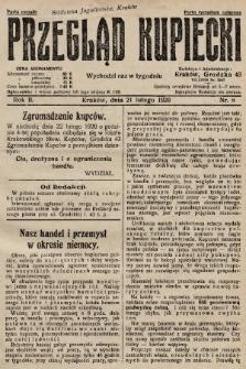Przegląd Kupiecki. 1920, nr8