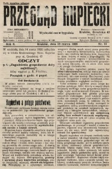 Przegląd Kupiecki. 1920, nr11