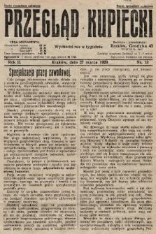 Przegląd Kupiecki. 1920, nr13