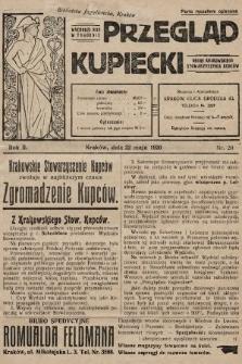 Przegląd Kupiecki : organ Krakowskiego Stowarzyszenia Kupców. 1920, nr20
