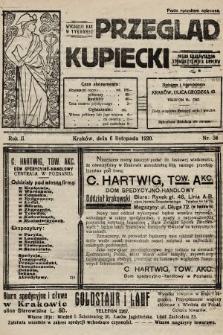 Przegląd Kupiecki : organ Krakowskiego Stowarzyszenia Kupców. 1920, nr34