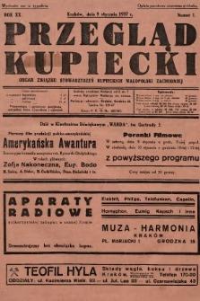 Przegląd Kupiecki : organ Związku Stowarzyszeń Kupieckich Małopolski Zachodniej. 1937, nr 1