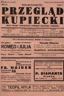 Przegląd Kupiecki : organ Związku Stowarzyszeń Kupieckich Małopolski Zachodniej. 1937, nr 2