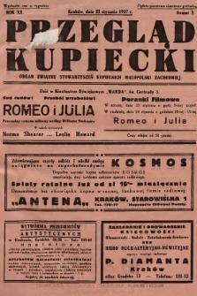Przegląd Kupiecki : organ Związku Stowarzyszeń Kupieckich Małopolski Zachodniej. 1937, nr 3