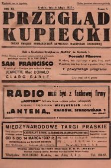 Przegląd Kupiecki : organ Związku Stowarzyszeń Kupieckich Małopolski Zachodniej. 1937, nr 5