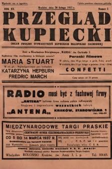 Przegląd Kupiecki : organ Związku Stowarzyszeń Kupieckich Małopolski Zachodniej. 1937, nr 7