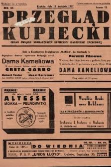 Przegląd Kupiecki : organ Związku Stowarzyszeń Kupieckich Małopolski Zachodniej. 1937, nr 13