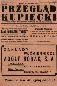 Przegląd Kupiecki : organ Związku Stowarzyszeń Kupieckich Małopolski Zachodniej. 1937, nr 17