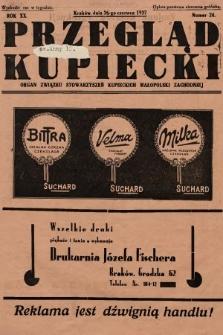 Przegląd Kupiecki : organ Związku Stowarzyszeń Kupieckich Małopolski Zachodniej. 1937, nr 24