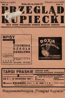 Przegląd Kupiecki : organ Związku Stowarzyszeń Kupieckich Małopolski Zachodniej. 1937, nr 28