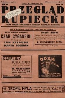 Przegląd Kupiecki : organ Związku Stowarzyszeń Kupieckich Małopolski Zachodniej. 1937, nr 38