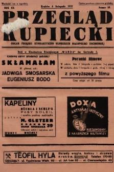 Przegląd Kupiecki : organ Związku Stowarzyszeń Kupieckich Małopolski Zachodniej. 1937, nr 39