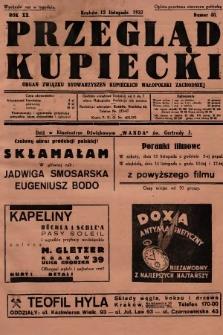 Przegląd Kupiecki : organ Związku Stowarzyszeń Kupieckich Małopolski Zachodniej. 1937, nr 40