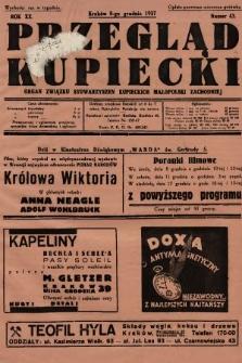 Przegląd Kupiecki : organ Związku Stowarzyszeń Kupieckich Małopolski Zachodniej. 1937, nr 43