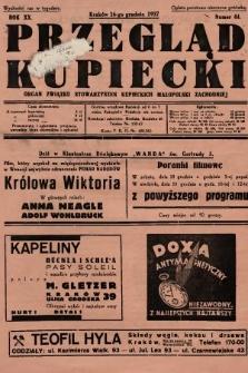 Przegląd Kupiecki : organ Związku Stowarzyszeń Kupieckich Małopolski Zachodniej. 1937, nr 44