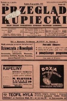 Przegląd Kupiecki : organ Związku Stowarzyszeń Kupieckich Małopolski Zachodniej. 1937, nr 45