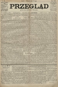 Przegląd polityczny, społeczny i literacki. 1900, nr161