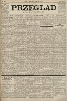 Przegląd polityczny, społeczny i literacki. 1900, nr163