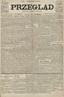 Przegląd polityczny, społeczny i literacki. 1900, nr178