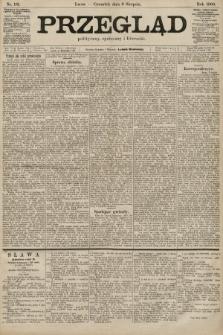 Przegląd polityczny, społeczny i literacki. 1900, nr181