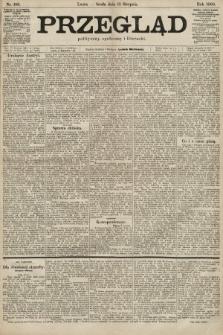 Przegląd polityczny, społeczny i literacki. 1900, nr186
