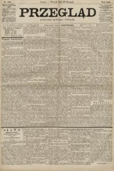 Przegląd polityczny, społeczny i literacki. 1900, nr196
