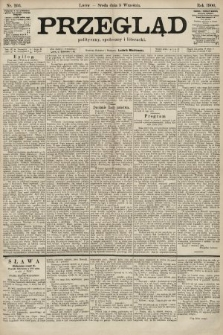 Przegląd polityczny, społeczny i literacki. 1900, nr203