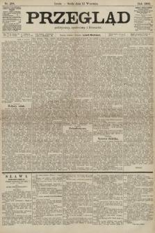 Przegląd polityczny, społeczny i literacki. 1900, nr208