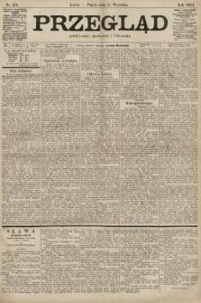 Przegląd polityczny, społeczny i literacki. 1900, nr216