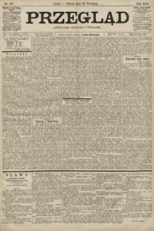 Przegląd polityczny, społeczny i literacki. 1900, nr217