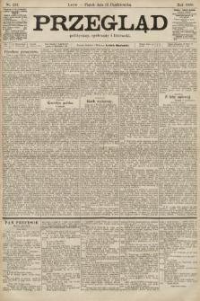 Przegląd polityczny, społeczny i literacki. 1900, nr233