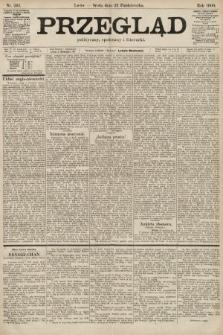 Przegląd polityczny, społeczny i literacki. 1900, nr243